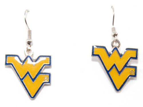 West Virginia Mountaineers Logo Earrings