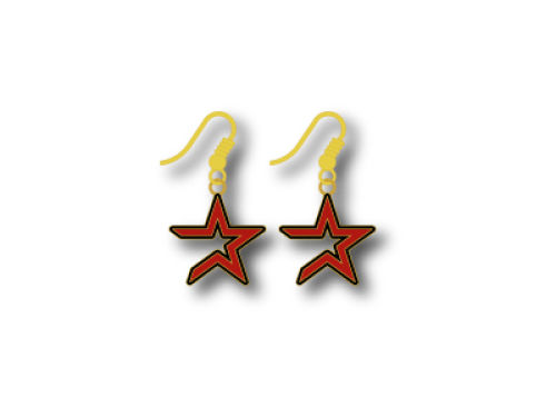Houston Astros Logo Earrings