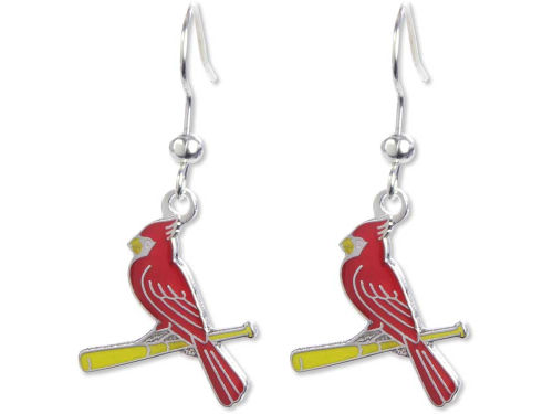 St. Louis Cardinals Aminco Inc. Logo Earrings