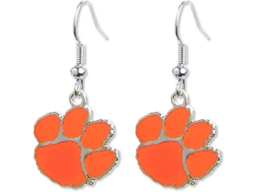 Clemson Tigers Aminco Inc. Logo Earrings