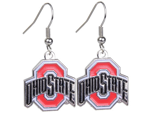 Ohio State Buckeyes Logo Earrings