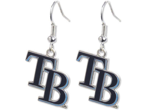 Tampa Bay Rays Logo Earrings
