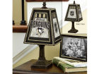 Pittsburgh Penguins Art Glass Table Lamp Bed & Bath