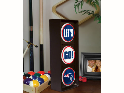 New England Patriots Flashing Lets Go Light