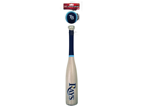 Tampa Bay Rays Jarden Sports Grand Slam Softee Bat and Ball Set