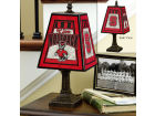 North Carolina State Wolfpack Art Glass Table Lamp Bed & Bath