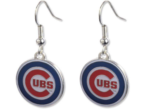 Chicago Cubs Aminco Inc. Logo Earrings