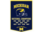 Michigan Wolverines Dynasty Banner Collectibles