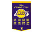 Los Angeles Lakers Dynasty Banner Collectibles