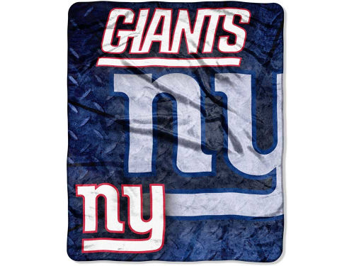 New York Giants The Northwest Company 50x60in Plush Throw Roll Out