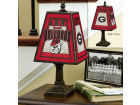 Georgia Bulldogs Art Glass Table Lamp Bed & Bath