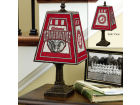 Alabama Crimson Tide Art Glass Table Lamp Bed & Bath