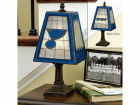 St. Louis Blues Art Glass Table Lamp Bed & Bath
