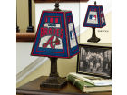 Atlanta Braves Art Glass Table Lamp Bed & Bath