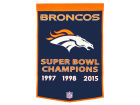 Denver Broncos Dynasty Banner Collectibles