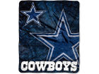 Dallas Cowboys The Northwest Company 50x60in Plush Throw Roll Out Bed & Bath