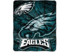 Philadelphia Eagles Northwest Company Plush Throw 50x60 Roll Out Bed & Bath
