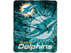 Miami Dolphins Northwest Company Plush Throw 50x60 Roll Out Bed & Bath