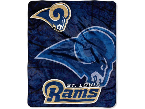 St. Louis Rams 50x60in Plush Throw Blanket