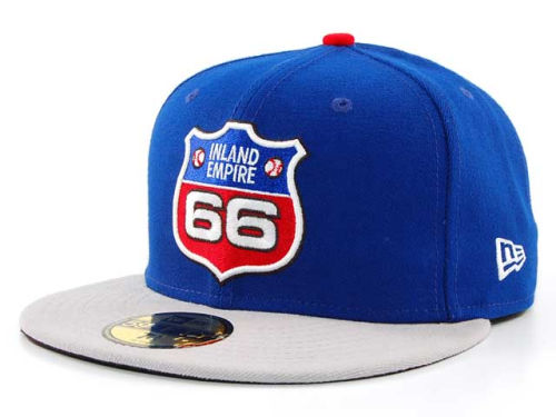 Inland Empire 66ers New Era MiLB 59FIFTY Hats