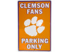 Clemson Tigers Parking Sign Auto Accessories