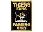 Missouri Tigers Parking Sign Auto Accessories