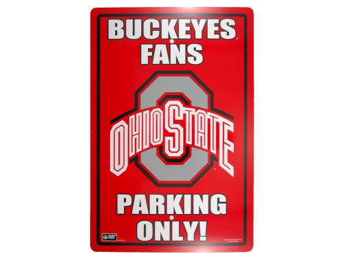 Ohio State Buckeyes Parking Sign