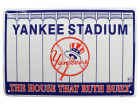 New York Yankees 18x12 Metal Sign Auto Accessories
