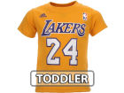 Los Angeles Lakers Kobe Bryant Outerstuff NBA Toddler Player T-Shirt T-Shirts