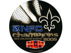 New Orleans Saints Rico Industries 09 Conference Champ Round Decal Auto Accessories
