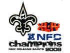New Orleans Saints Rico Industries 2009 Conferance Champ Small Static Cling Auto Accessories
