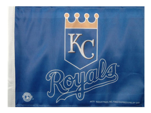 Kansas City Royals Rico Industries Car Flag