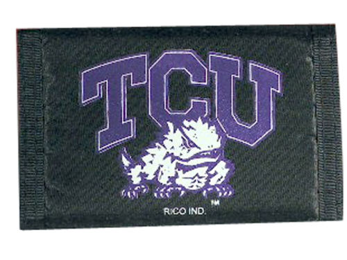 Texas Christian Horned Frogs Rico Industries Nylon Wallet
