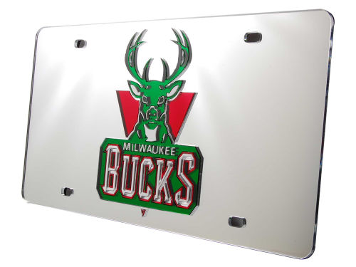 Milwaukee Bucks Rico Industries Acrylic Laser Tag