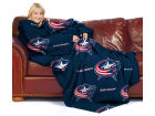 Columbus Blue Jackets Comfy Throw Blanket Bed & Bath