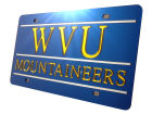 West Virginia Mountaineers Laser Tag Auto Accessories