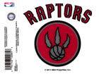 Toronto Raptors Rico Industries Static Cling Decal Auto Accessories