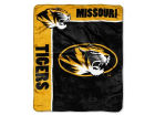 Missouri Tigers Northwest Company 50x60in Plush Throw Blanket Bed & Bath