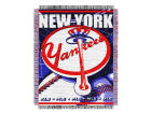 New York Yankees Knit Throw Blanket Bed & Bath