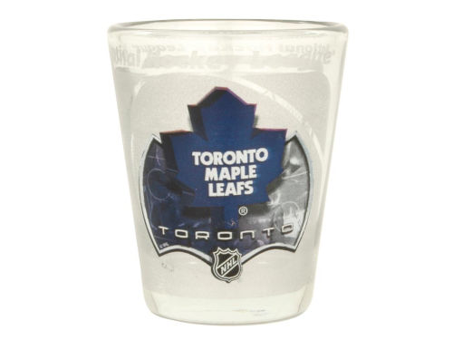 Toronto Maple Leafs 3D Wrap Collector Glass