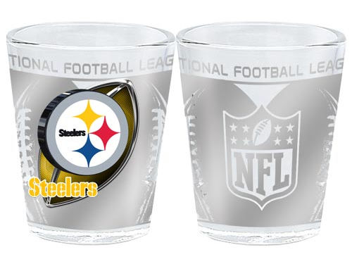 Pittsburgh Steelers 3D Wrap Collector Glass