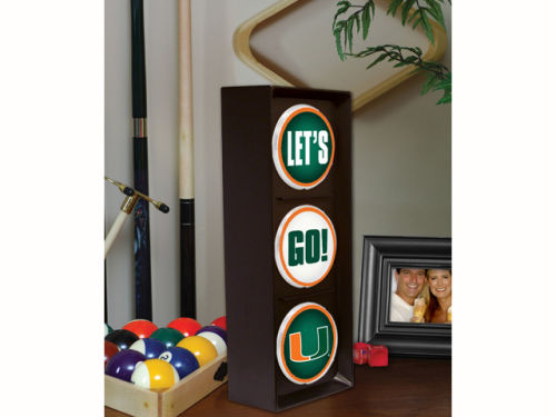 Miami Hurricanes Flashing Lets Go Light