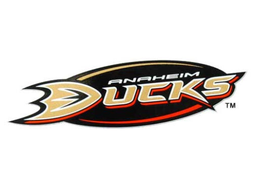 Anaheim Ducks Rico Industries Static Cling Decal