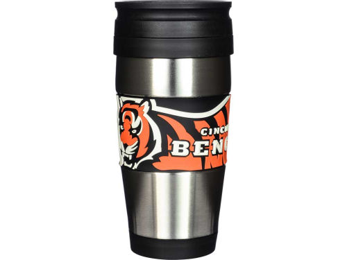 Cincinnati Bengals Stainless Steel Travel Tumbler