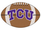 Texas Christian Horned Frogs Football Mat Home Office & School Supplies