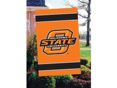 Oklahoma State Cowboys Applique House Flag