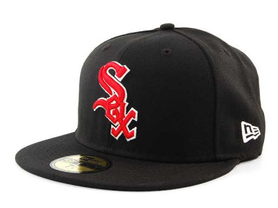 Chicago White Sox BR Stock 59FIFTY Hats