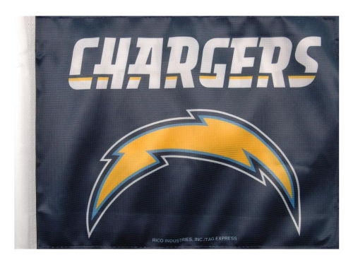 San Diego Chargers Car Flag