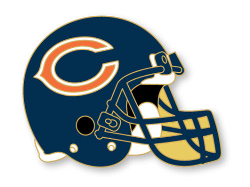 Chicago Bears Aminco Inc. Helmet Pin
