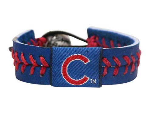 Chicago Cubs Team Color Baseball Bracelet